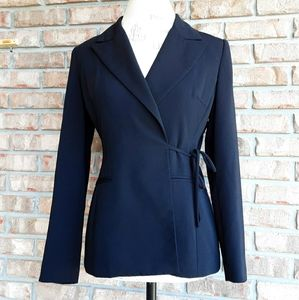 Hugo Buscati Collection black blazer jacket.